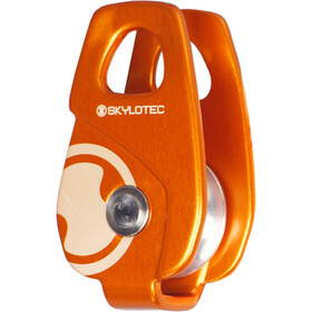 Skylotec Mini Roll Cage Rope Pulley orange